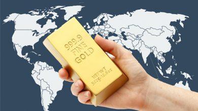 إحتياطيات الذهب في البلدان العربية