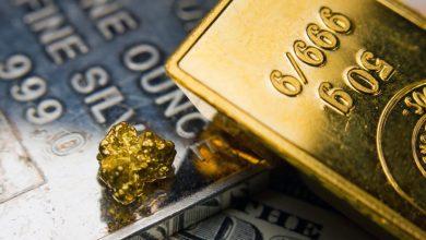 الذهب والفضة والمعادن