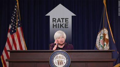 سعر الفائدة الأمريكية